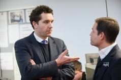 Reggie® Education Launch 2011 – Edward Timpson MP & Graham Shapiro